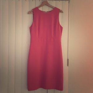 J. Crew Pink Sheath Dress Size 8